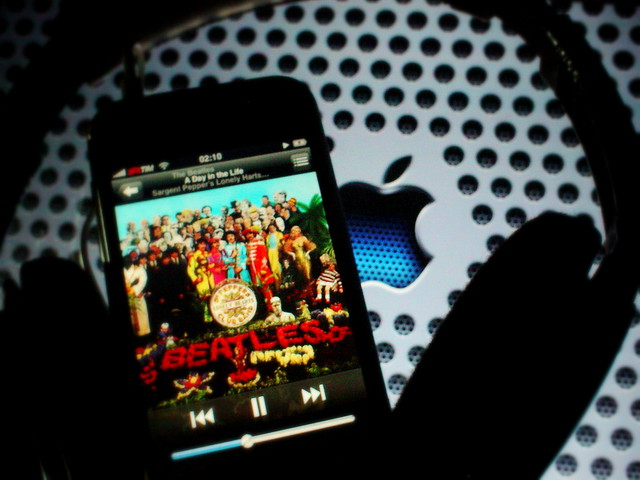 wallpaper - beatles & apple