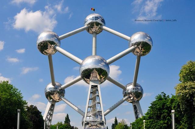 Atomium Restaurant, square de l'Atomium, Brussels …