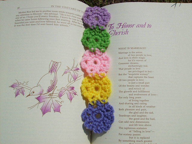 Iced Mint - Thread Crochet Bookmark - Yahoo! Voices - voices.yahoo.com
