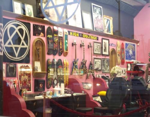La ink tattoo shop tattoos for Cherry bomb tattoo parlor perth