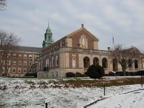 Jesuit Spiritual Center in Wernersville, PA. Photo by Wayne Stratz.