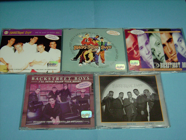 SINGLES  DO CD BACKSTREET BOYS - MY COLLECTION