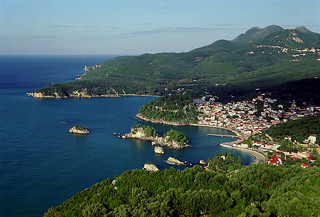 Parga from above