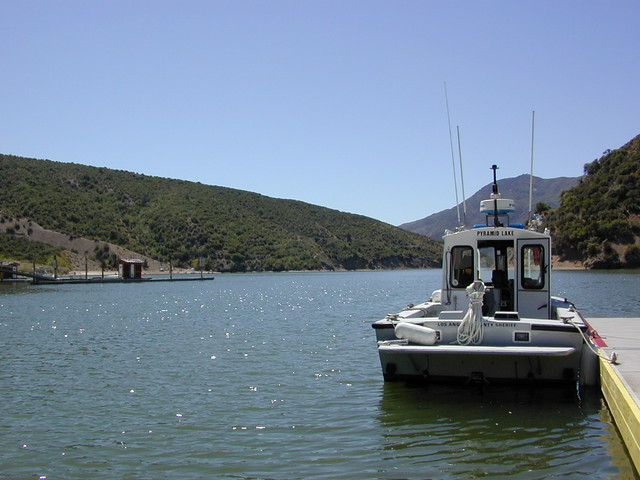 "Pyramid Lake California ""LA Lake"""