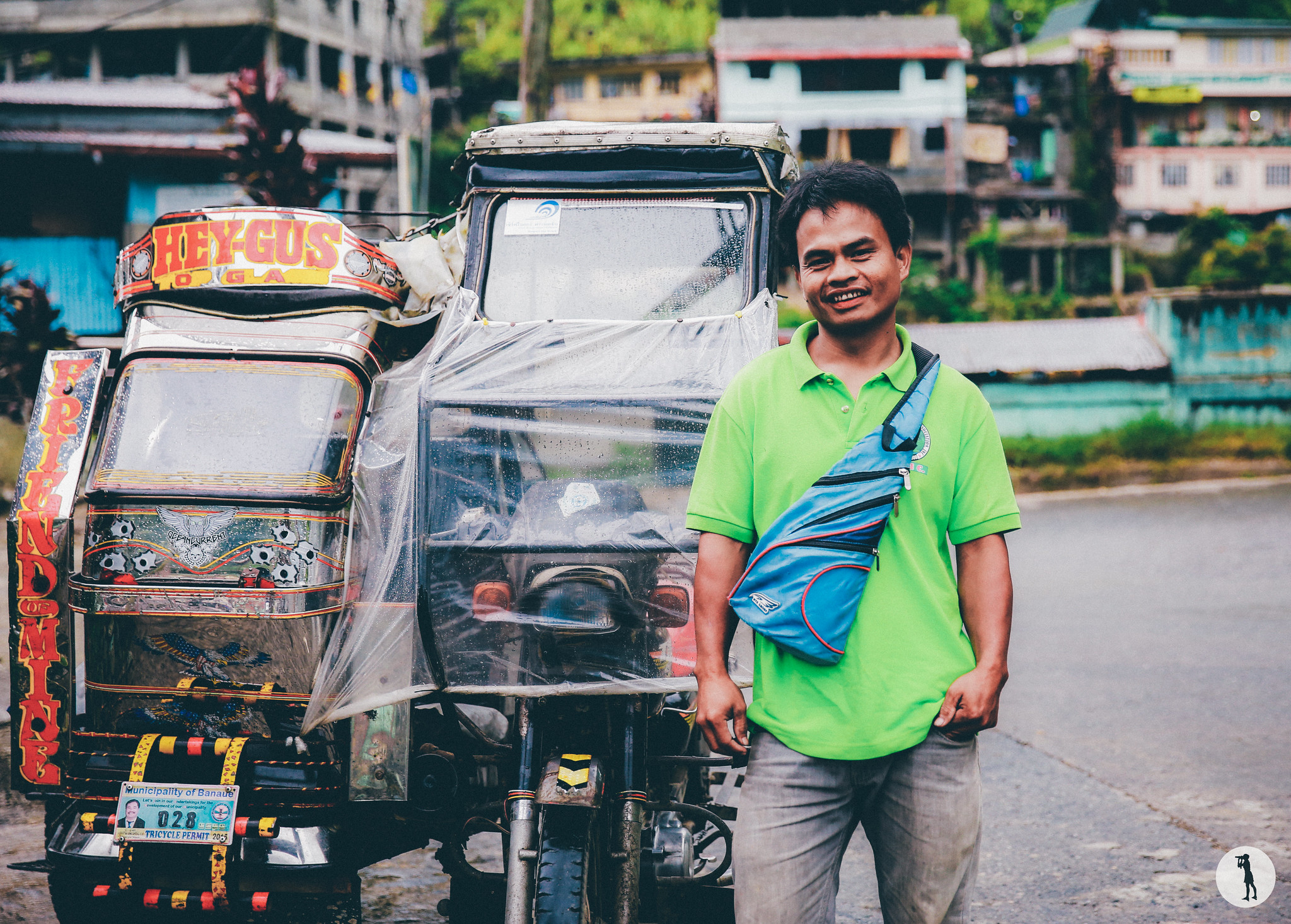 Travel to the Philippines - Banaue. Arnel, tricycle driver