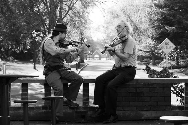 EMU Street Musicians por Afnaidel