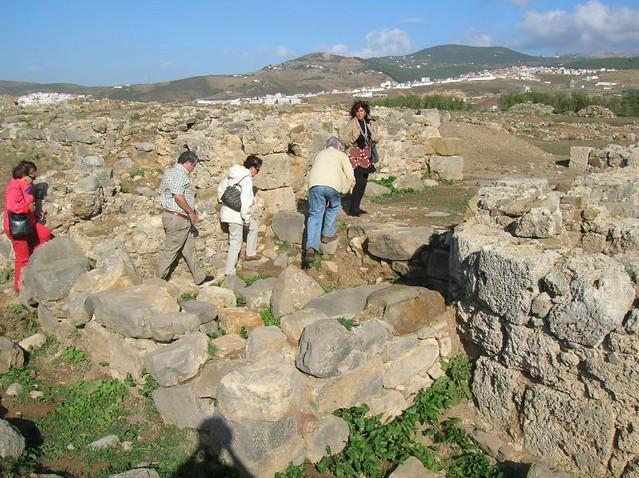 Vista parcial de Tamuda (Tetuán, Morocco)