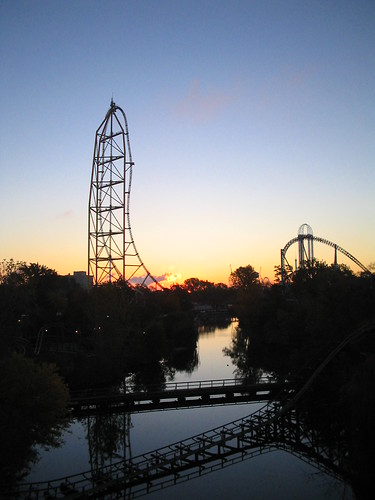 park ohio sunrise point dawn amusement mine ride top cedar roller rollercoaster coaster thrill dragster ttd sandusky rollercoastercalendar2008