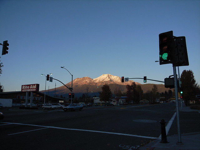 Mt. Shasta from Mt. Shasta City
