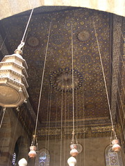 the ceiling of  another mausoleum? or is it from the same mausoleum as the last one?  definitely a ceiling of something.