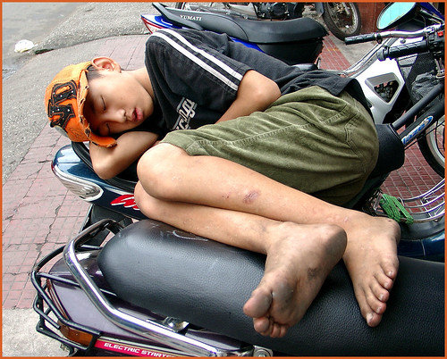 Sleeping boy (2)