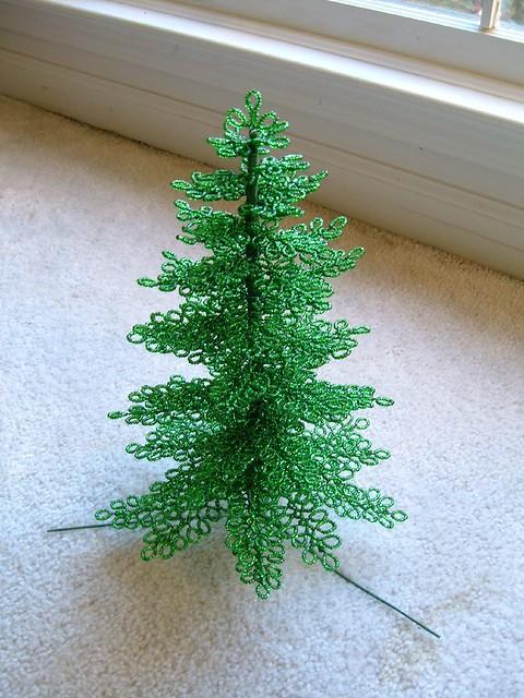 Beaded Christmas Tree Flickr Photo Sharing