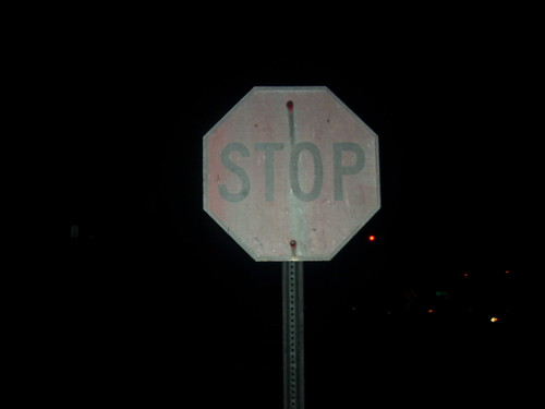 The World's Oldest Stop Sign