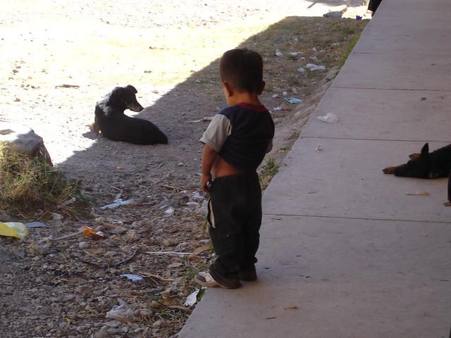 Boys Peeing On The Ground