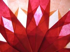 Fensterbild zum Selbermachen Stern rot