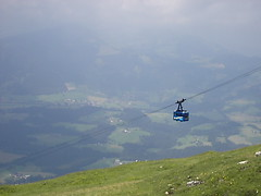 mountain, plain, hill, cable car, mountainous landforms,