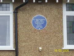Photo of Reginald Mitchell blue plaque