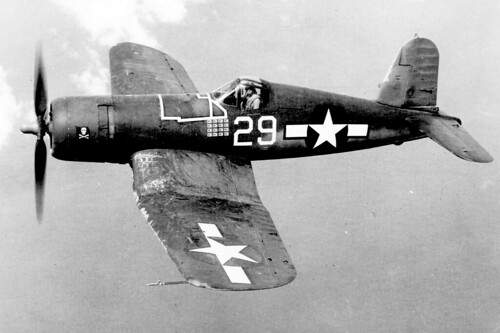 USN Chance Vought F4U-1 Corsair