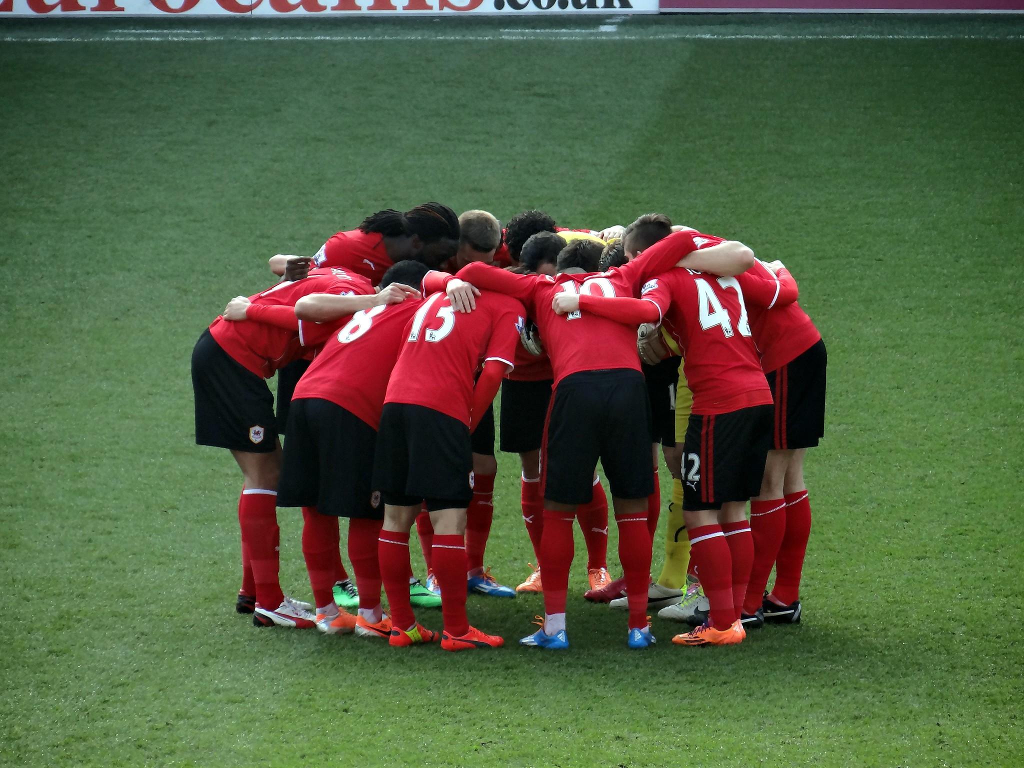 Cardiff City Huddle
