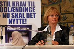 Dansk Folkeparti's Pia Kjærsgaard