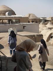 roofs of isfahan, iran october 2007