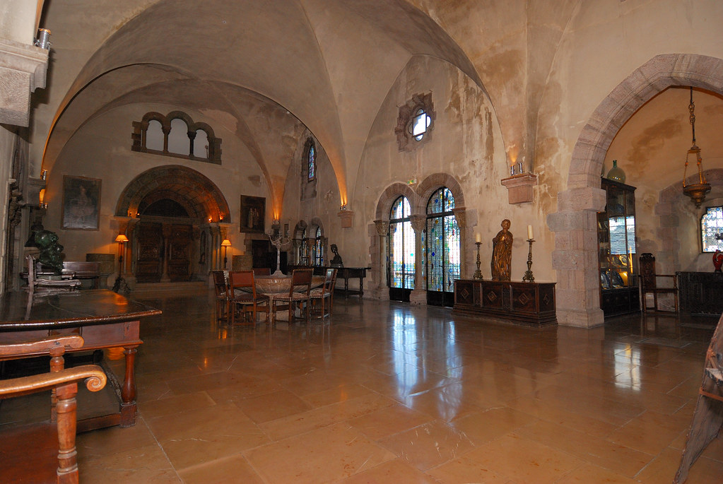 The Gothic Dining Room | Taken in the Chateau d La Napoule ...