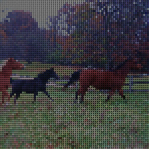 Our Horses - Hama Bead Pattern