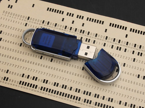 Data storage - old and new by Ian, on Flickr