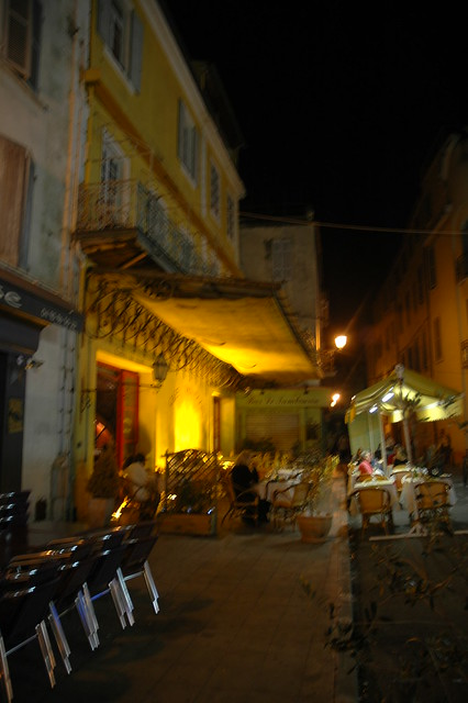 Setting Of Van Gogh  S Cafe Terrace At Night