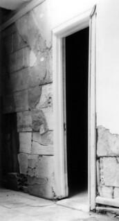 dark door