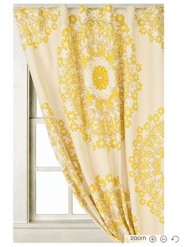 rohini yellow curtain by belledame73 becpine says these pretty yellow