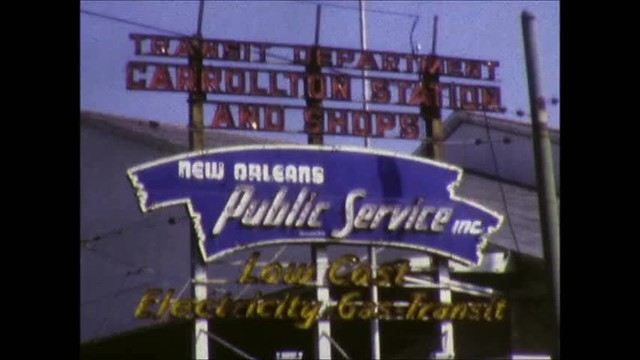 New Orleans Trolleys 1971 Part 2
