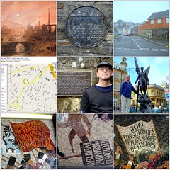 The world 39 s best photos of chartistnewport flickr hive mind for Chartist mural newport