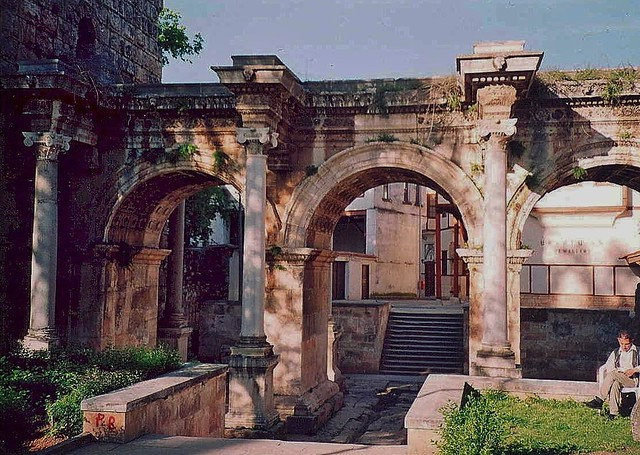 Hadrian's Gate, Antalya, Turkey - April 2003