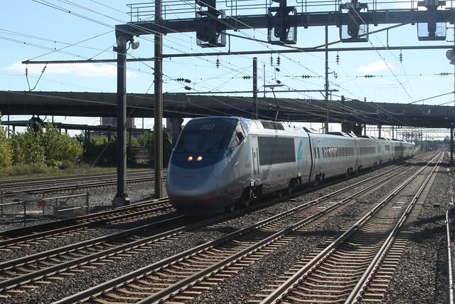 ATK  Acela  2027  Newark NJ  12 Oct 2007  D-807