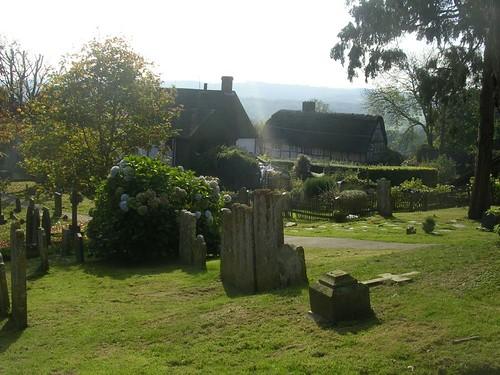 Burwash churchyard