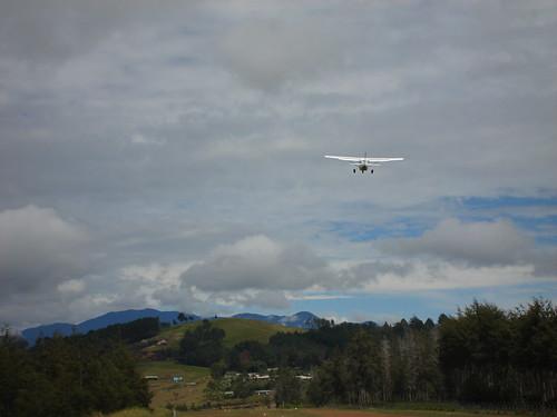 Cessna 206 Climbing