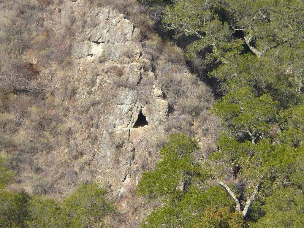 hidden cave at Welch Creek Road
