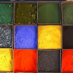 Paint Powders - Kashgar, China