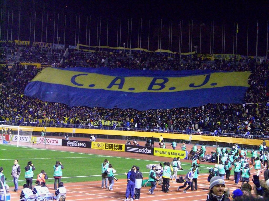 Boca Juniors X Etoile Du Sahel Jugador Nº 12 Pte Boca Juni