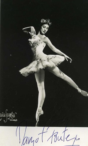 Postcard: Margot Fonteyn
