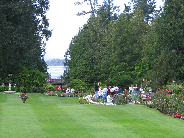Tea time at butchart gardens i treated my beautiful - Best time to visit butchart gardens ...