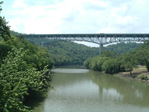 bridge lexingtonkentucky i75 truss kentuckyriver