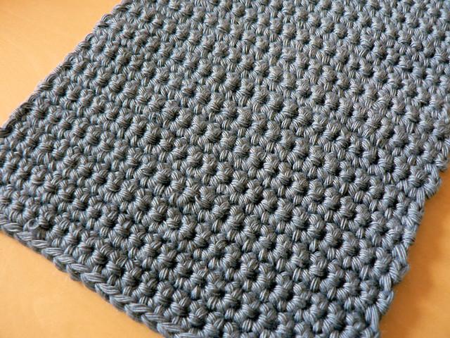 Crochet Patterns For Beginners Dishcloths : Beginner Crochet Dishcloth My first ever crochet project ...