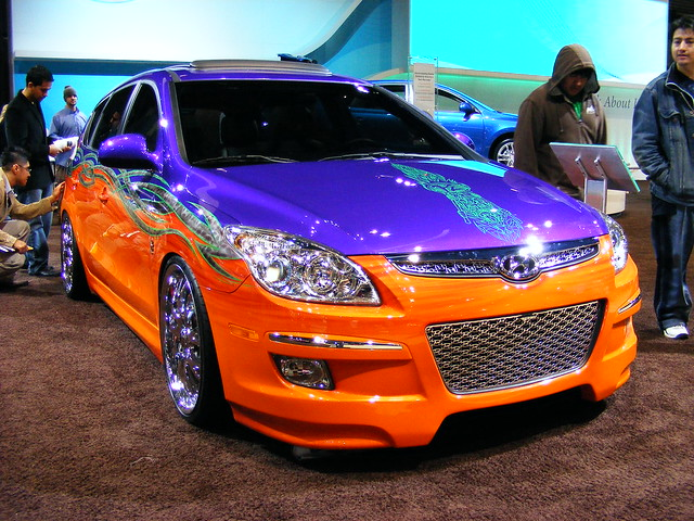 Tricked Out Hyundai Elantra Touring Flickr Photo Sharing