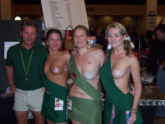 Pictures of naked girl scouts share