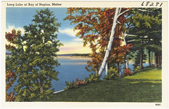 Long Lake at Bay of Naples, Maine