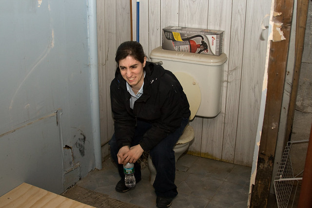 How to Install an Upflush Toilet in a Basement | eHow.com