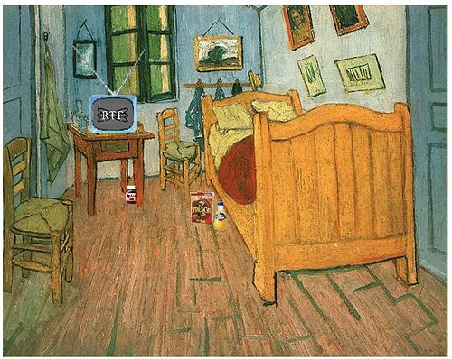 Vincent 39 s bedroom after van gogh flickr photo sharing for Van gogh paintings locations