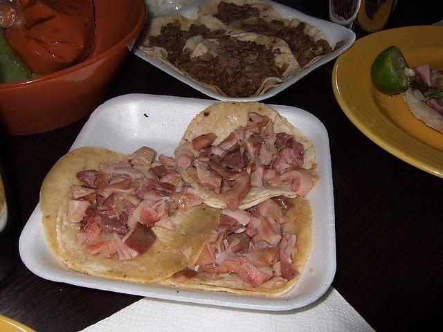 Mexican Food Tacos De Buche